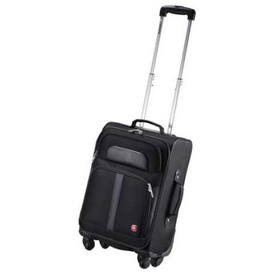 "Wenger® 19"" 4-Wheeled Spinner Carry-On Luggage"