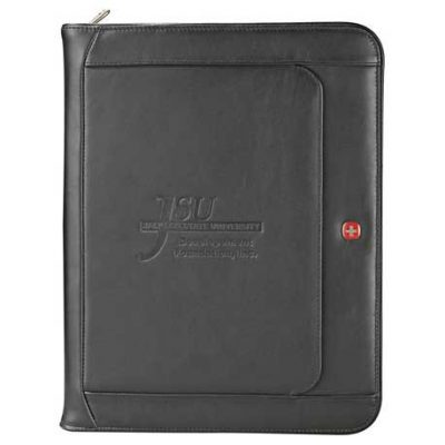 Wenger® Exec Leather Zippered Padfolio Bundle Set