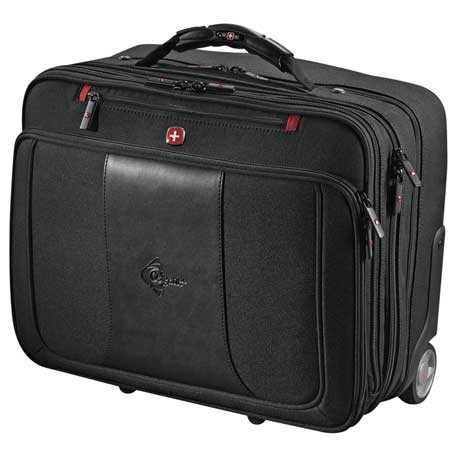 "Wenger® Transit Wheeled 17"" Computer Briefcase"